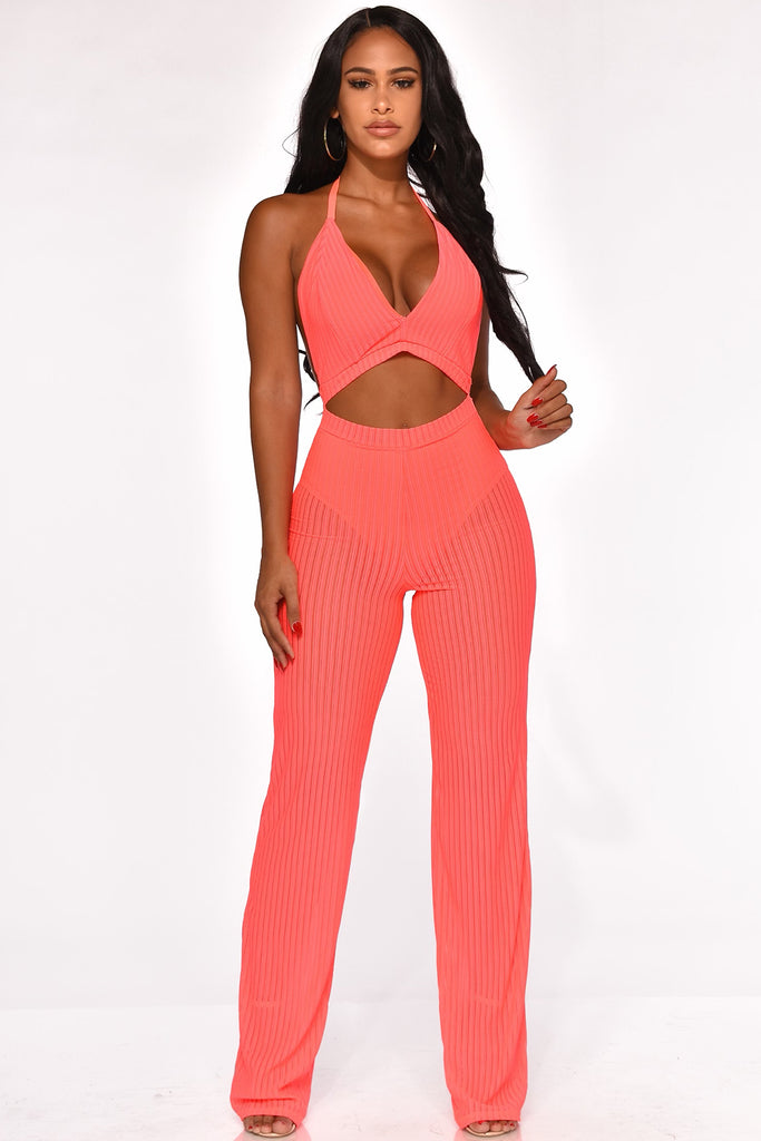 BE BRIGHT BACK JUMPSUIT