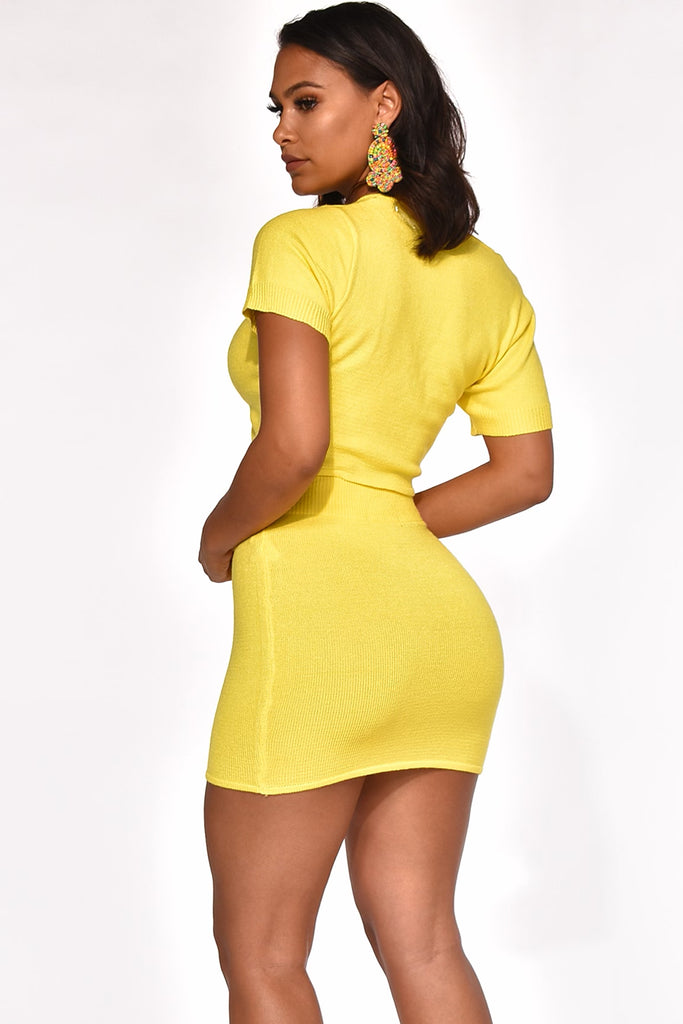 BRIGHTER THAN WHAT YOU THINK SKIRT SET