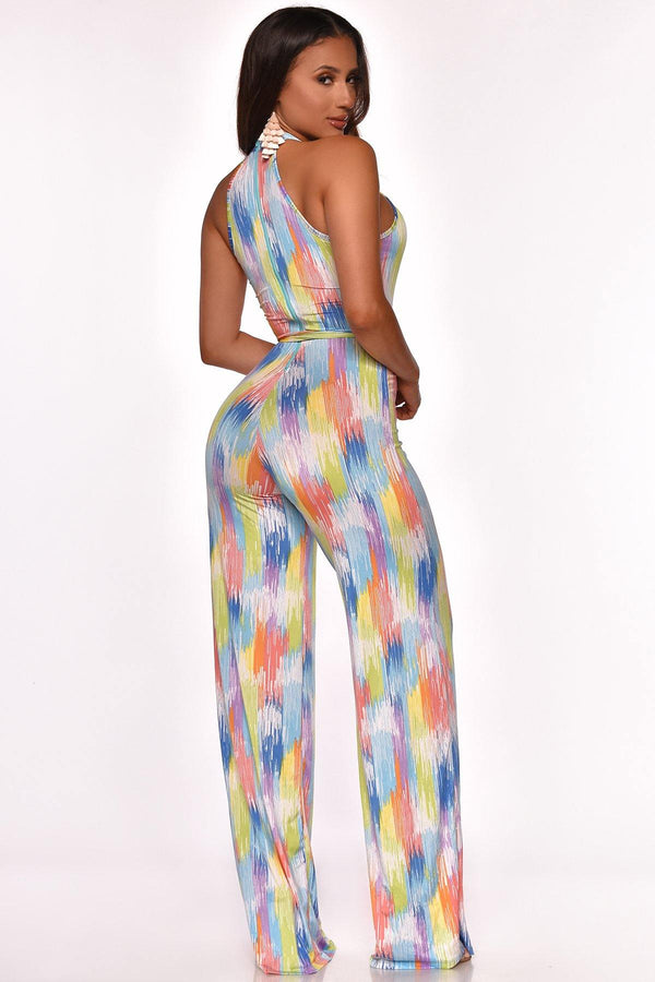 SHOW ME YOUR TRUE COLORS JUMPSUIT