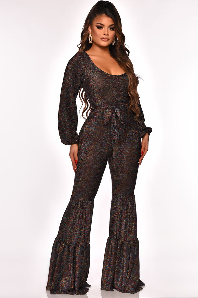 RIGHT ON SHINE JUMPSUIT