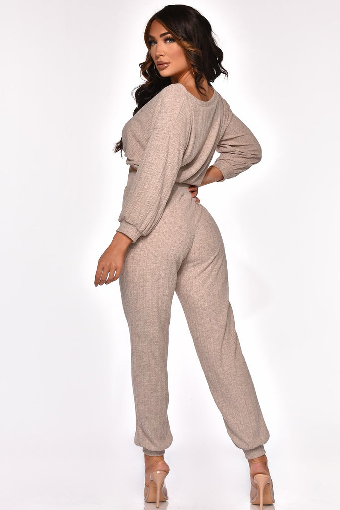 KEEP ME COZY PANT SET