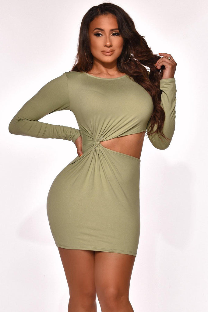 WORTH IT MINI DRESS