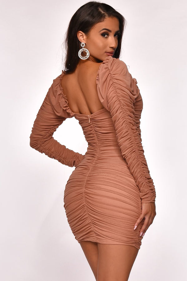 RUCHED & READY DRESS
