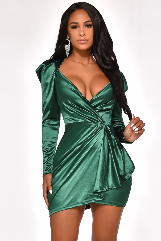SATIN TOUCH DRESS