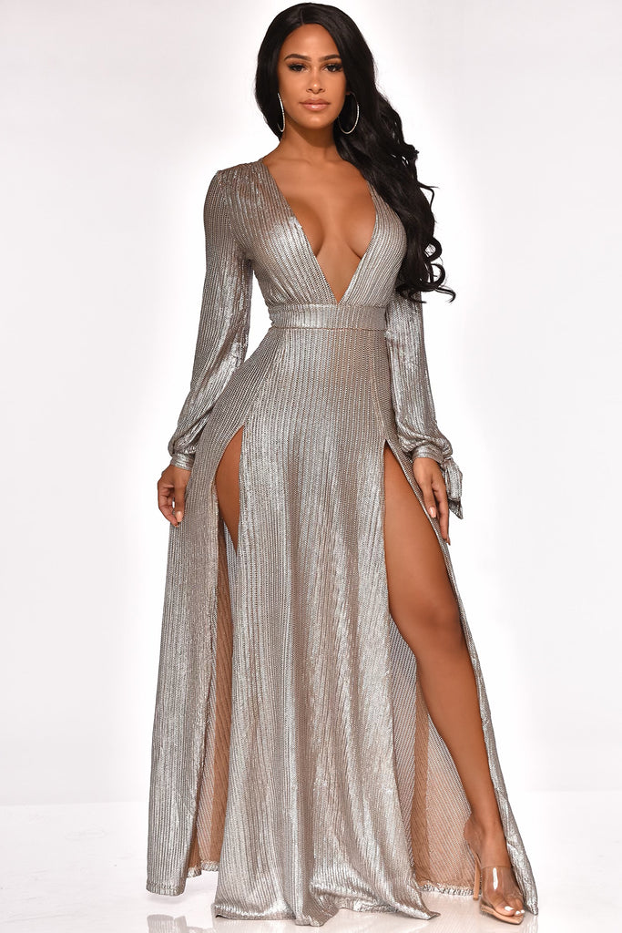 STARS DO SHINE MAXI DRESS