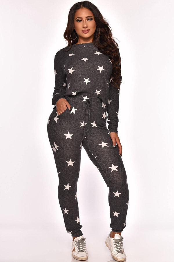 BORN A STAR PANT SET