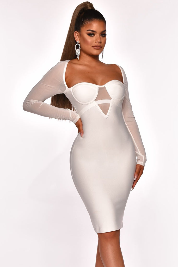 WELL RESPECTED BANDAGE DRESS