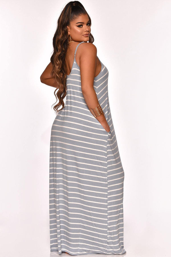 YOUR GO TO MAXI DRESS BLUE