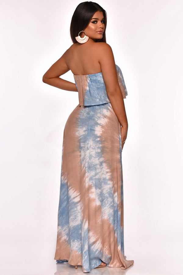 CRUISIN THE CITY MAXI DRESS