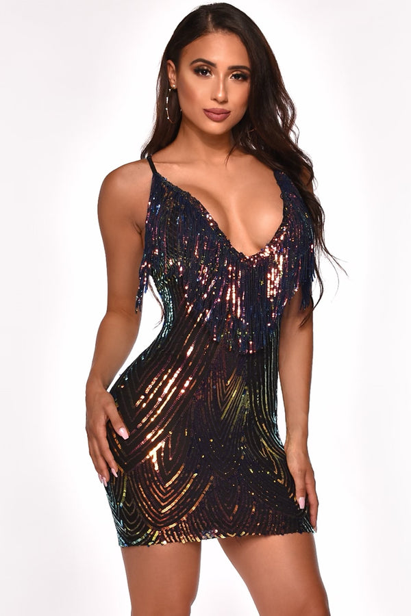 LETS DANCE MINI DRESS