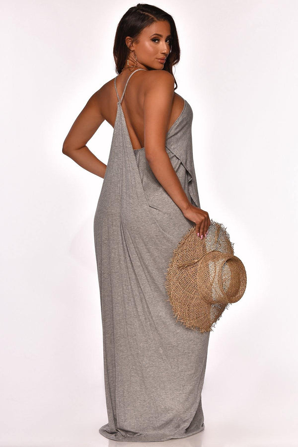 IN SANTORINI MAXI DRESS