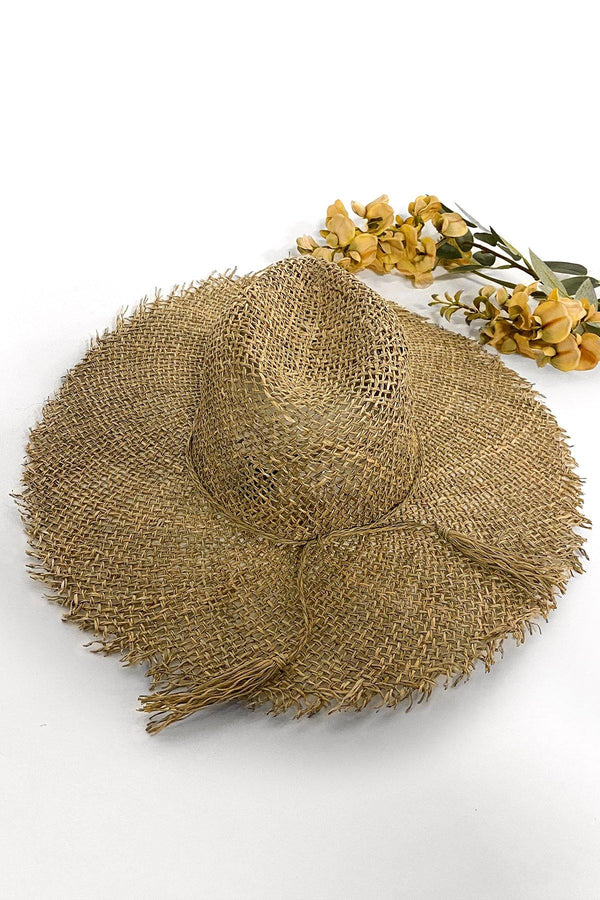 HONEYMOON HARBOR STRAW HAT