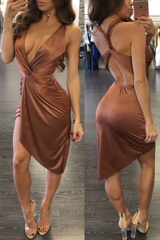 KALI COPPER DRESS