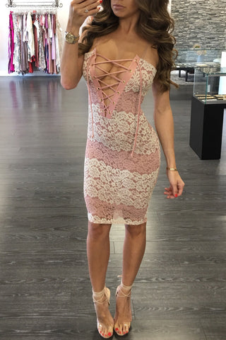 MAURENE LACE DRESS