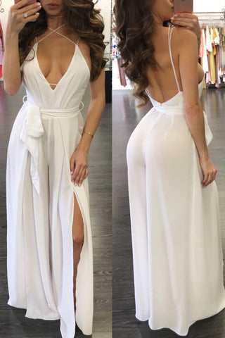 HOLLY JUMPSUIT WHITE