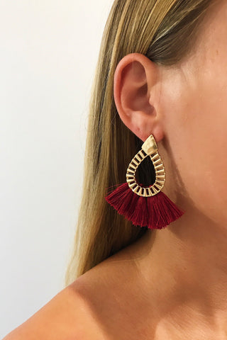 SEÑORITA FRINGE EARRINGS