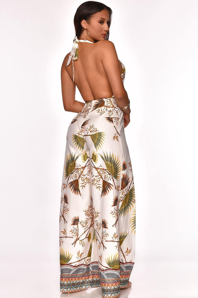 INTO THE TROPICS JUMPSUIT