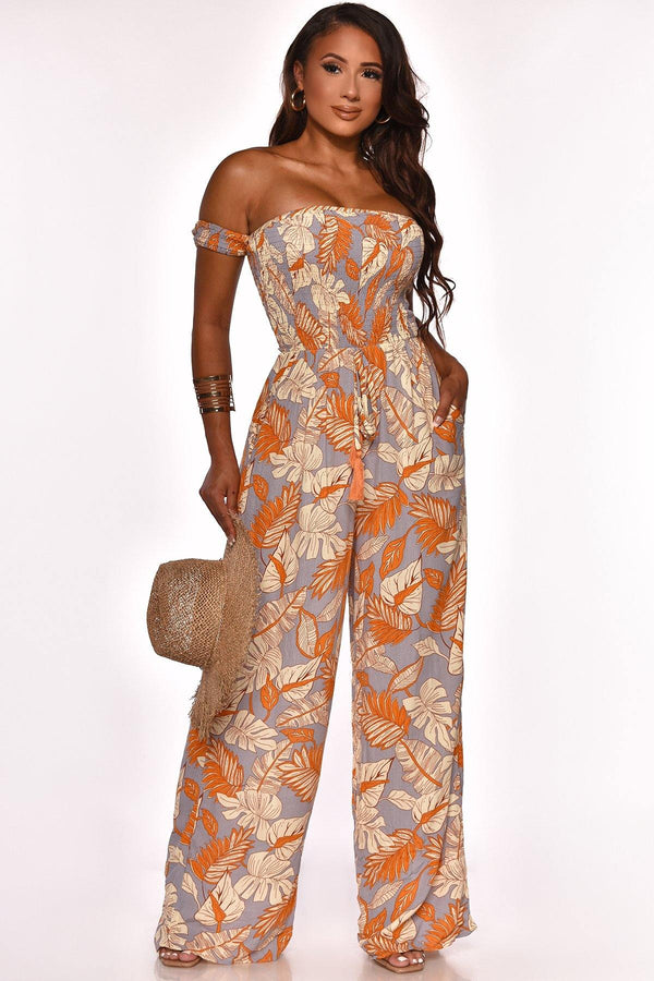 LEAF IT JUMPSUIT