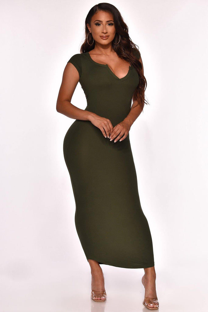 KEEP IT CUTE MIDI DRESS