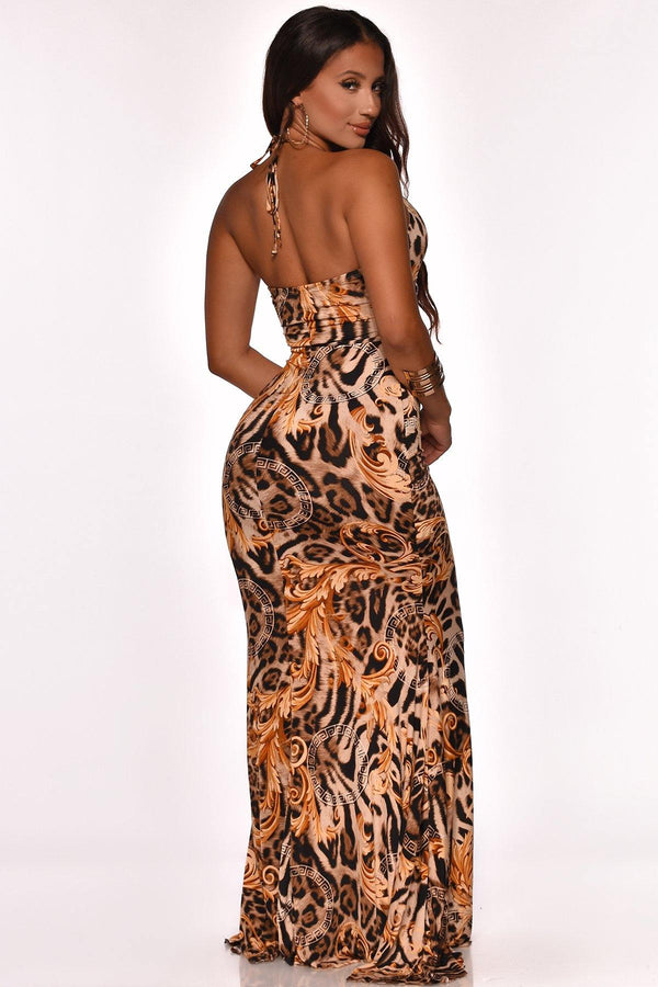 GREAT IMPRESSION MAXI DRESS
