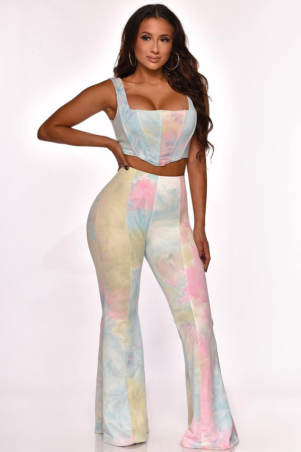 LIFE IN COLOR PANT SET