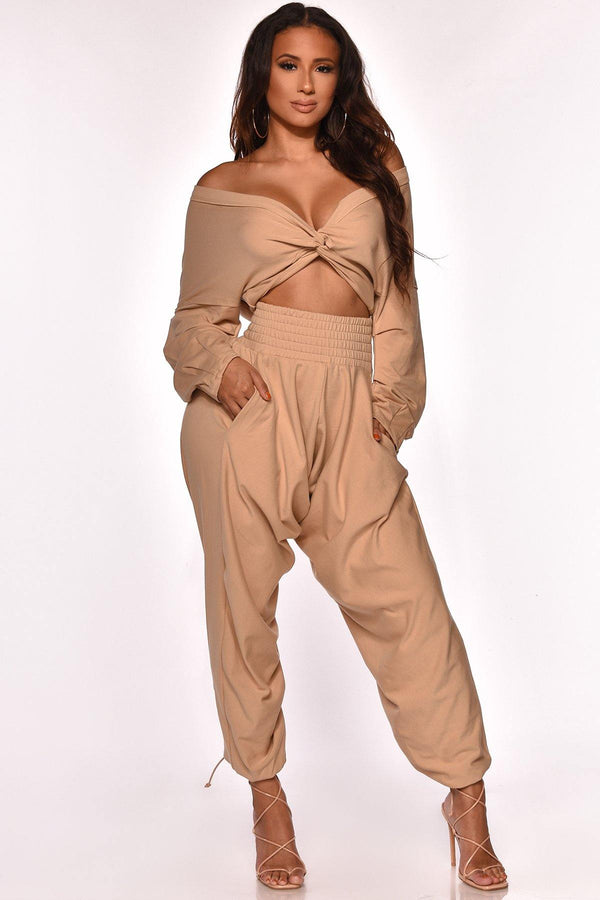 LIVING THE COMFY DAYS PANT SET