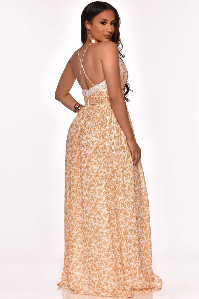 ALWAYS ON THE MOVE MAXI DRESS