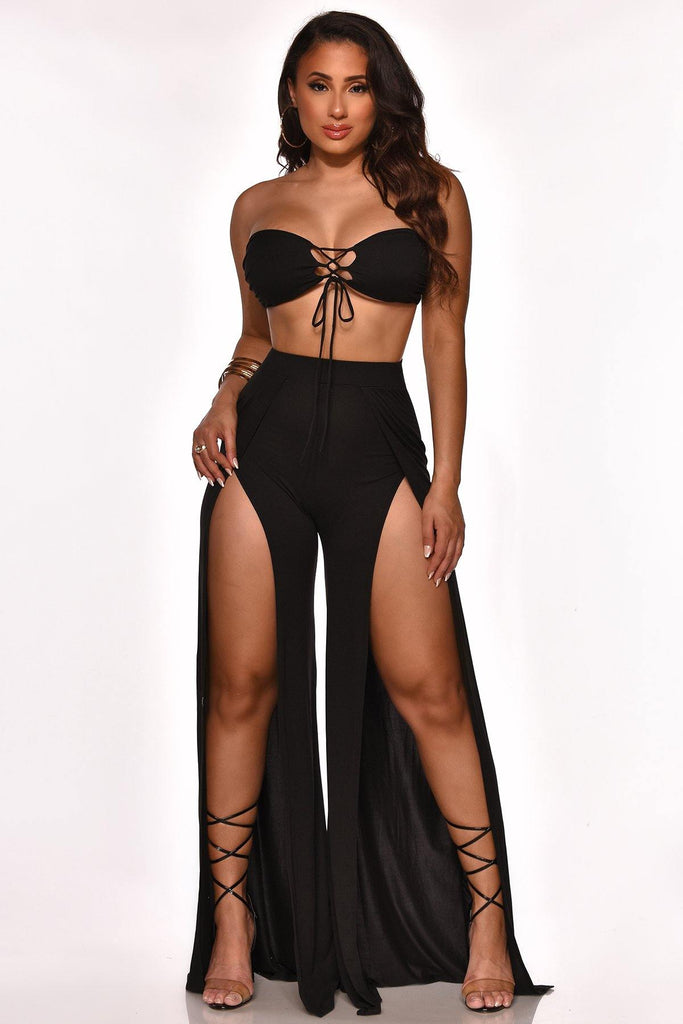 BRINGING IT BACK PANT SET - The Boutique