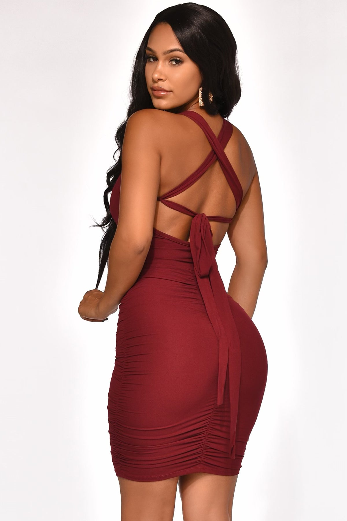STAY ON THE TIGHT SIDE DRESS