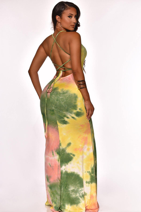 SPLASH OF COLOR  MAXI GREEN
