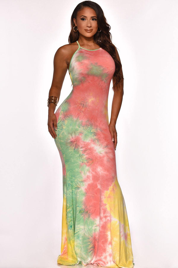 SPLASH OF COLOR  MAXI PINK