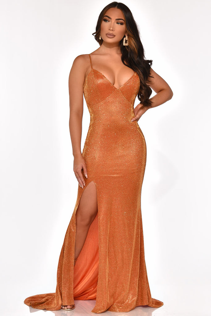 TROPHY WIFE GOWN