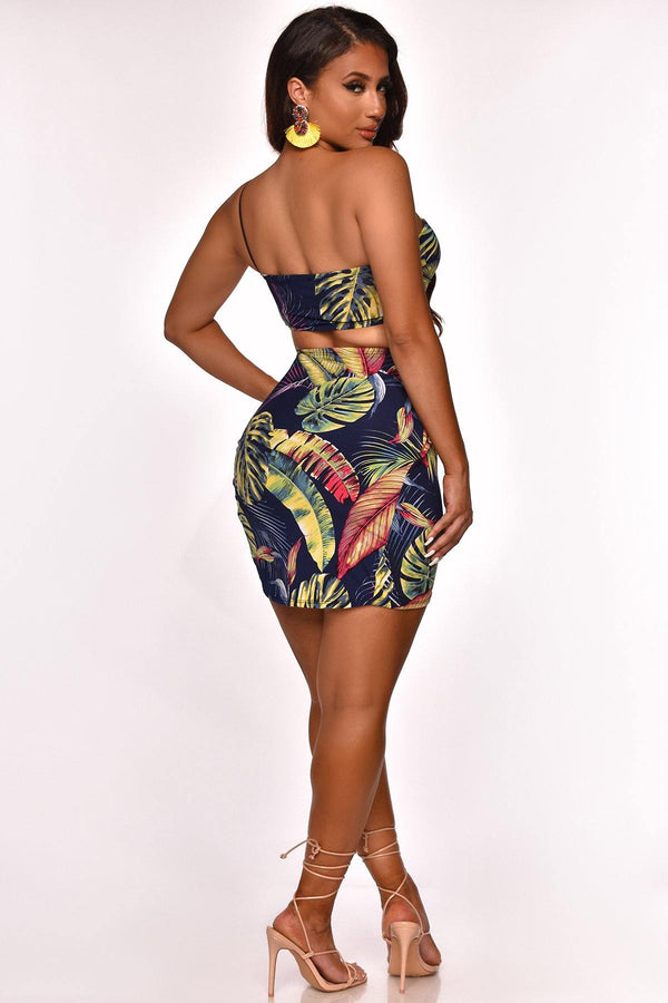 TROPICAL ESCAPE SKIRT SET
