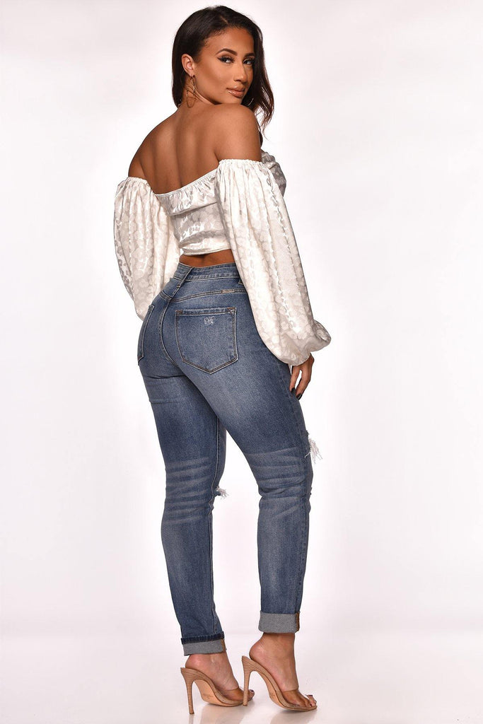 AUBREY HIGH RISE JEAN - The Boutique
