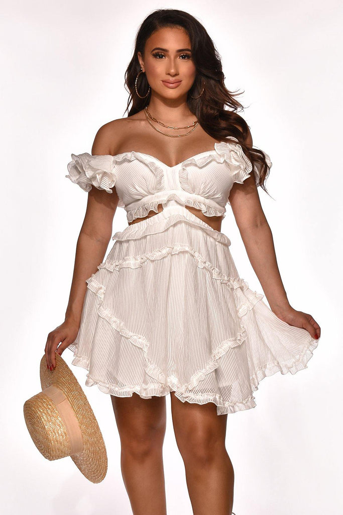 READY TO RUFFLE DRESS