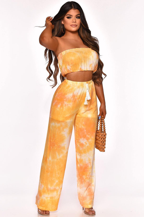 NIGHTS IN MAUI PANT SET