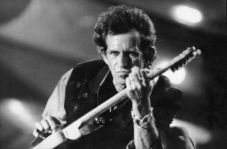 Keith Richards: Sympathy for the Devil.