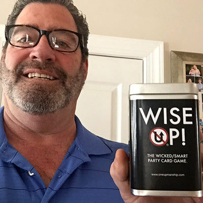 WISE UP! – The Wicked/Smart Party Card Game.