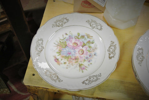 "Bavaria Z.S.& Co, 2-Piece ""Cosmos"" Plate Set"