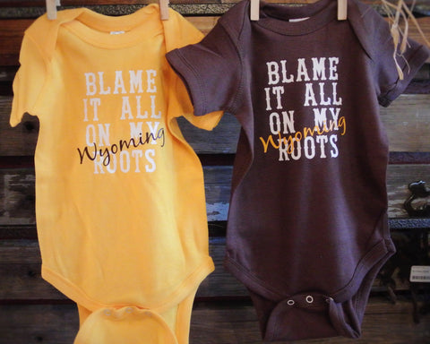 """Blame It On The Roots"" Onsie"