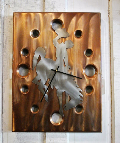 Wyoming Clock