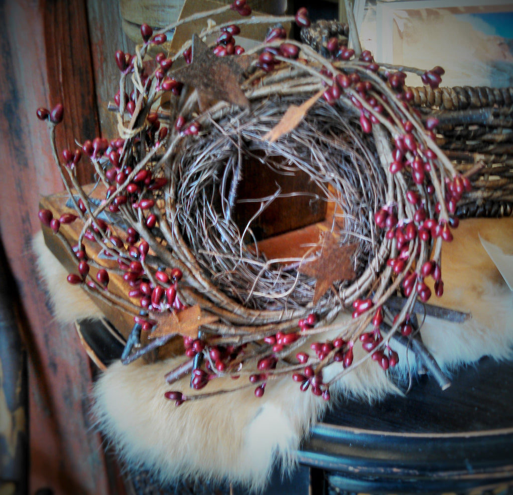 Pip Berry Small Star Wreath/Nest