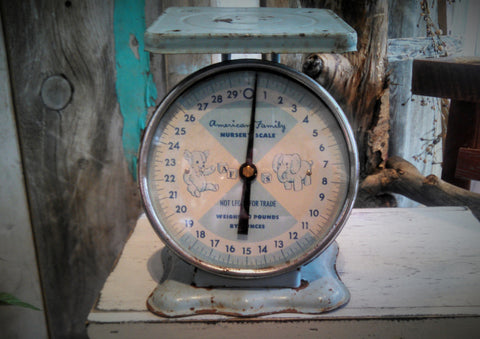 Antique Nursery Scale