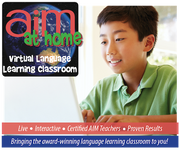 AIM at Home Online Classes - Level 1 - Beginner French for ages 8-13 years - WINTER