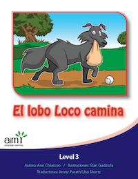 El lobo Loco camina - Reader (minimum of 6)