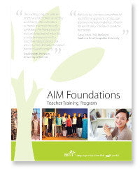 Live Online - AIM Foundations Teacher Training - Immersion & Francophone FALL
