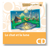 Le chat et la lune - Audio CD