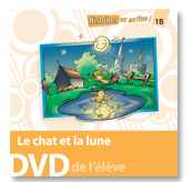 Le chat et la lune - Student DVD (minimum of 10)