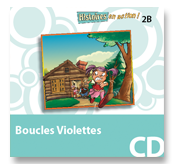 Boucles Violettes - Audio CD