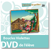 Boucles Violettes - Student DVD (minimum of 10)